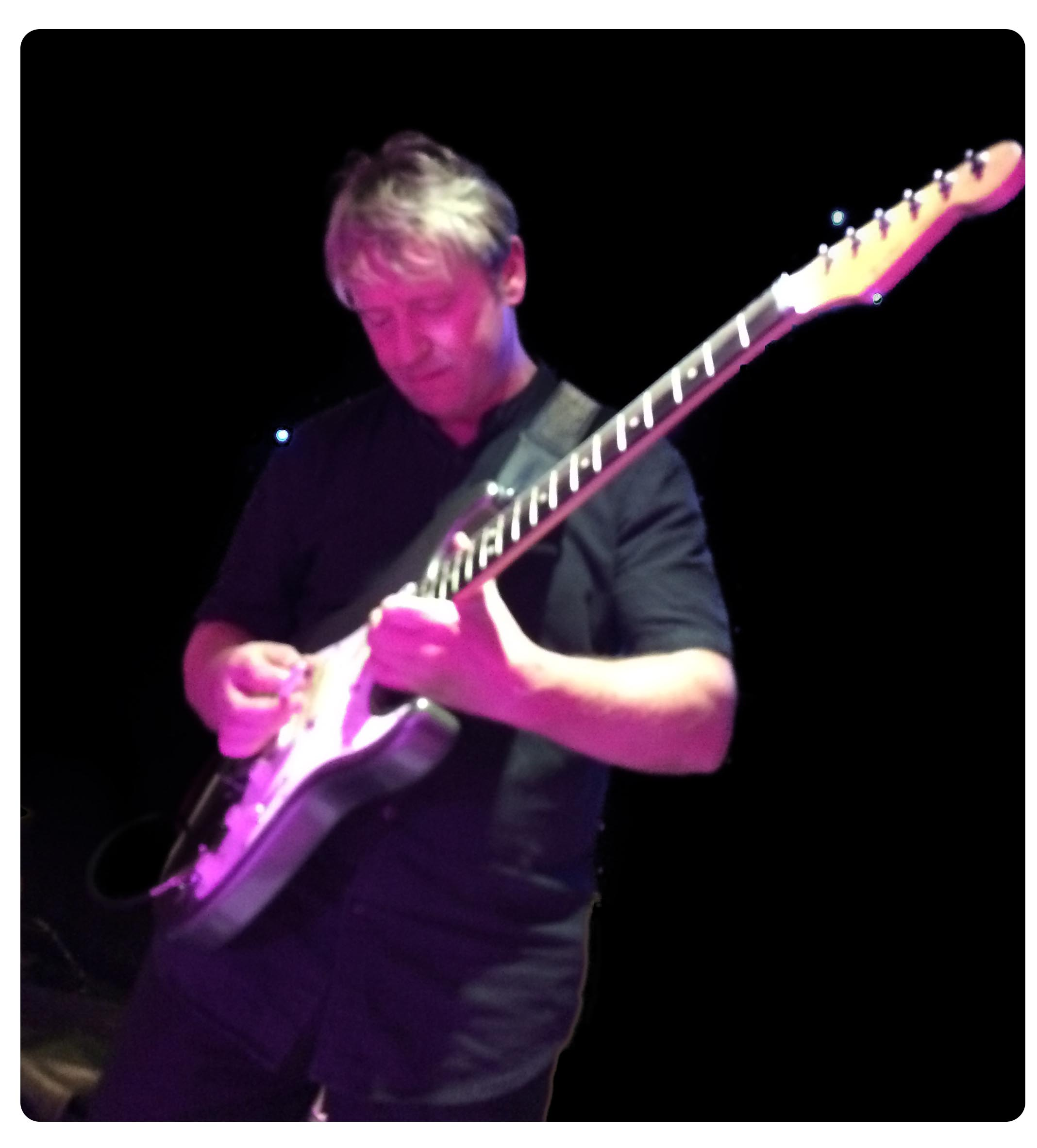 Image of Heart and Soul guitarist Mike Knight